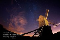 Perseid meteor shower, wrawby post mill