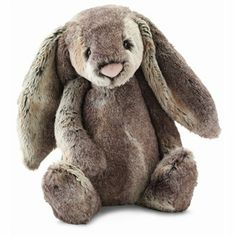 Jellycat 'Huge Woodland Bunny' Stuffed Animal A supersoft and plush woodland bunny makes the perfect playtime companion for your little one. Style Name:Jellycat 'Huge Woodland Bunny' Stuffed Animal. Cute Toys, Plush Animals, Clay Animals, Cute Bunny, Cutest Bunnies, Big Bunny, Bunny Art, Baby Toys, Baby Girls