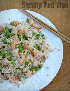Shrimp Pad Thai (Gluten Free)