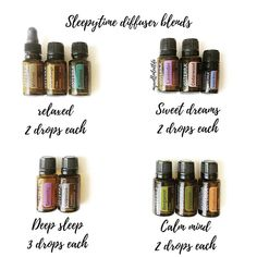 Natural Remedies For Sleep A few of my fav sleepy time blends- great for adults and little ones to prepare for a restful sleep! Each of these oils helps relax, calm… - Sleeping Essential Oil Blends, Essential Oils For Sleep, Essential Oil Diffuser Blends, Doterra Oils For Sleep, Aromatherapy For Sleep, Doterra Sleep Blends, Helichrysum Essential Oil, Doterra Essential Oils, Doterra Diffuser