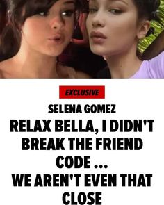 """Selena Gomez Says She Isn't Breaking Friend Rules By Dating The Weeknd via @tmz_tv  Selena Gomez isn't buying Bella Hadid's friendship heartbreak after the singer scooped up The Weeknd ... the reason's pretty simple -- she says they weren't that close. Sources close to Selena say if Bella truly feels betrayed by her new fling it comes without merit. We're told Selena's always been best friends with """"squad"""" leader Taylor Swift ... but the Hadid sisters were merely distant acquaintances. Our…"""