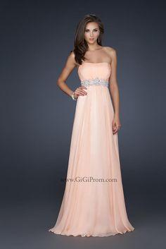 Would make a really beautiful grad dress.