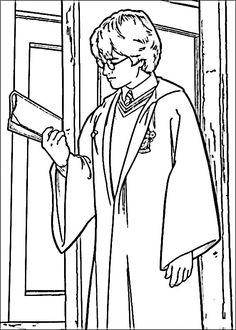 Harry Potter Tegninger til Farvelægning. Printbare Farvelægning for børn. Tegninger til udskriv og farve nº 19