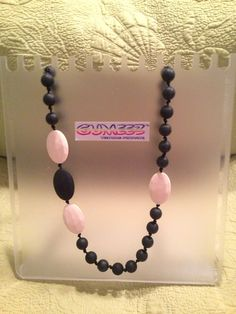 GUMEEZ Silicone Teething Necklace Quatro approx 32 long by Gumeez, $23.97