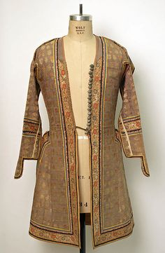 18th century Iranian Coat at the Metropolitan Museum of Art, New York