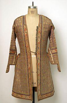 18th century Iranian Coat at the Metropolitan Museum of Art, New York