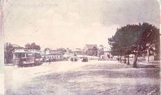 Darebin Heritage - Looking north from Clifton Hill. The Bridge Hotel is directly in front of the tram