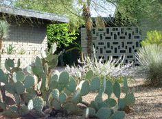 1950's decorative cinderblock wall, Phoenix: The Neighborhood Network