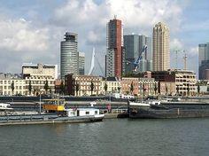 Rotterdam - vanaf spido boot