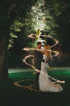 Unusual Sparkler Photo Ideas And Tips For Your Wedding ❤ See more: http://www.weddingforward.com/sparkler-photo-ideas-tips/ #weddingforward #bride #bridal #wedding