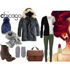 """Chicago Trip"" by proulxm on Polyvore"