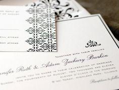 #Lucious #Verde #Wedding #Invitations #Stationery