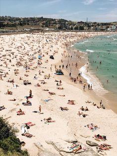 Bondi Beach, Sydney, Australia in New South Wales. Brisbane, Melbourne, Australia Tourism, Sydney Australia, Victoria Australia, Bondi Beach Australia, Australia 2017, Western Australia, Great Barrier Reef
