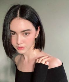 Davika Hoorne Mai Davika, K Beauty, Beauty Makeup, Beauty Skin, Makeup Tips, Korean Makeup, Face Hair, Hair Inspo, Hair Inspiration