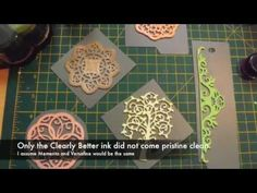 DIY rubber stamps - by cutting foam using your dies with your die cutting machine. Brilliant!
