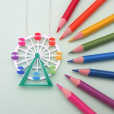Ferris Wheel necklace - Hand over your fairy cakes