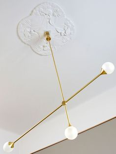 Intuition has forever been important in design, but even more so today in the era of dull mass production. Emphasising the personal qualities of objects. The Bullarum Suspension lamp is composed of three hand-blown. Interior Lighting, Modern Lighting, Lighting Design, Modern Chandelier, Ceiling Decor, Ceiling Lights, Ceiling Rose, Blitz Design, I Love Lamp
