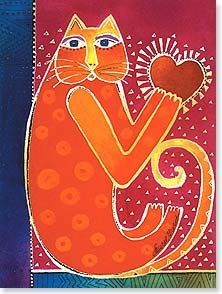 "Laurel Burch  ""A Happy Heart"""