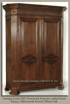 Armoires | Antique Armoires ~ Eternally Stylish | Antiques In Style · Antique  ArmoireWardrobe ClosetIn ...
