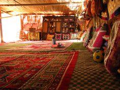 Traditional Arabic Coffee Ritual in an Omani Bedouin Tent
