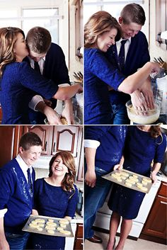 - Engagement Session: Cooking in the Kitchen. We can do cupcakes! Engagement Couple, Engagement Pictures, Wedding Pictures, Engagement Session, Wedding Ideas, Engagement Ideas, Couple Pictures, Engagements, Wedding Planning