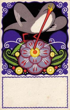 791. Josef Divéky - Wiener Werkstatte postcard