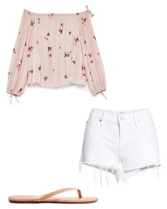 """""""Summer vibes✌"""" by jay-love12 on Polyvore featuring Hudson Jeans and Tkees"""