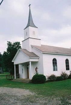 Norman Methodist Church. Norman Arkansas