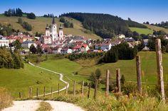 Blick auf #Mariazell