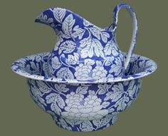 Blue and White Transferware, English Blue Printed Pottery