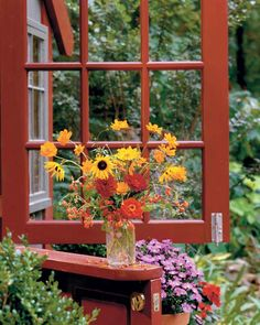 Complete with a dutch door for Southernlivinghouseplans com