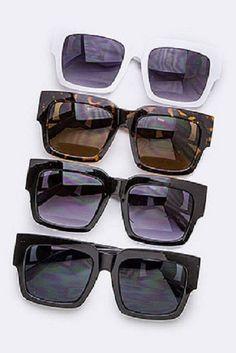 Statement Square Fashion Sunglasses