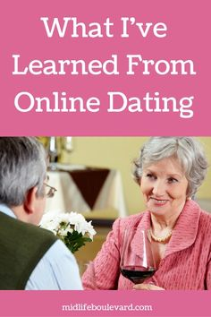 Online dating advice over 50