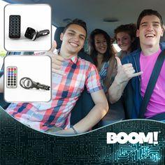 ¡Lleva el ritmo contigo! #ReproductorMP3 para coche con modulador FM