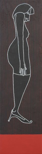 Contrappunto-A by Giovanni Maranghi (b1955; Lastra a Signa, near Florence) http://www.firenzeart.it/opera.php?id=661