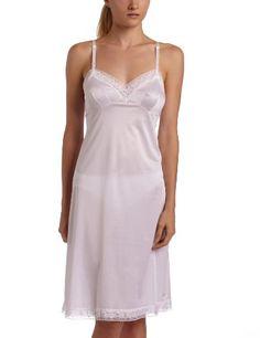 f173ca4d5c4 Vanity Fair Women s Rosette Lace Full Slip Star White