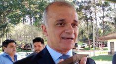 """Carlos Arce expresó que «es un orgullo representar a la provincia, por recomendación de nuestro gobernador y vicegobernador, que es hijo de esta tierra, para que festejemos con el intendente Miguel Dos Santos""""."""