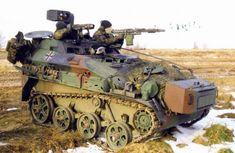 Wiesel 1 - tiny, itsy, bitys, but still a tank...and it beats walking!