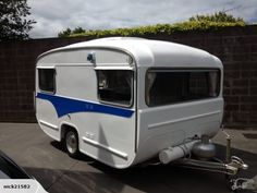 Lilliput caravan 1976 | Trade Me New proud owners Neil and Nichelle Hughes