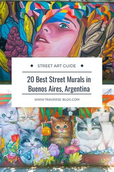 Street Art Guide Buenos Aires – 20 Murals You Have to See in Argentina! South America Destinations, South America Travel, Travel Pictures, Travel Pics, Unique Vacations, Street Mural, Paris Map, Best Street Art, Chicago City