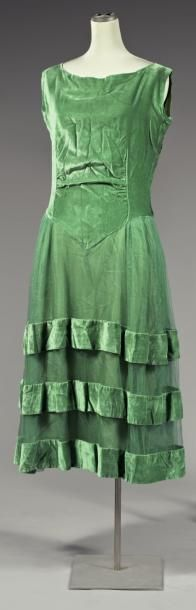 Evening dress ca 1922 (attributed to Poiret)