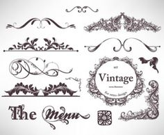 free vector Classic lace pattern 06 vector