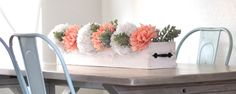 Rustic Centerpiece Box. Wish I had these for my wedding!!