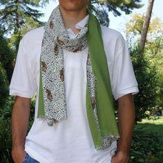 Fular hombre edición limitada, moda sostenible Look by LyLy Crochet, Fashion, A Real Man, Sustainable Fashion, Scarves, Hand Made, Elegant, Men, Moda