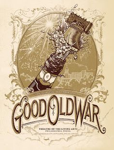 Good Old War Music Poster
