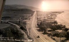Malibu, CA, 1930s. Wow.