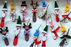 JÉGKRÉM PÁLCA FIGURÁK KARÁCSONYRA - tanitoikincseim.lapunk.hu Arts And Crafts, Diy Crafts, Advent, Christmas Ornaments, Holiday Decor, Diy Ideas, Home Decor, Decoration, Do It Yourself