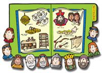 This unique file folder activity matches the Book of Mormon character to it's corresponding story picture. This game provides a perfect teaching moment in telling your child the stories in the Book of Mormon.  Learning how these characters match up will be a great beginning to their Book of Mormon education!