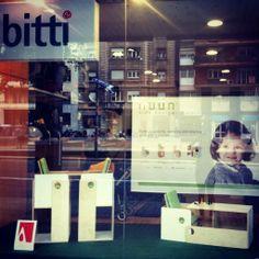 Nos encontraréis en BITTI: Av. de Josep Tarradellas,120-124, Barcelona. #tiendas #puericultura #diseño #bebés #niños #barcelona #nuunkidsdesign