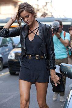 black on black // #streetstyle